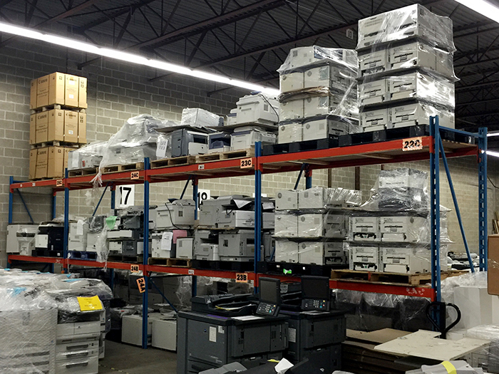 CopEx Warehouse Storage